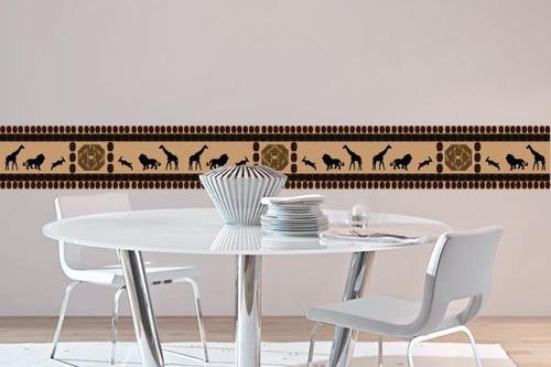 adesivo faixa africana - mudo minha casa