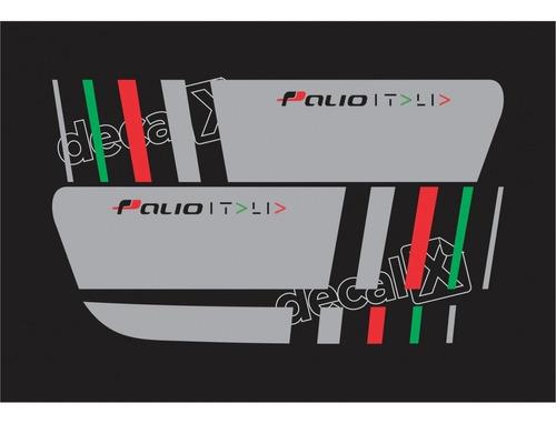 adesivo faixa lateral fiat palio sporting italia imp118