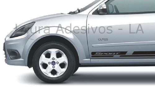 adesivo faixa lateral novo ford ka sport acessório la
