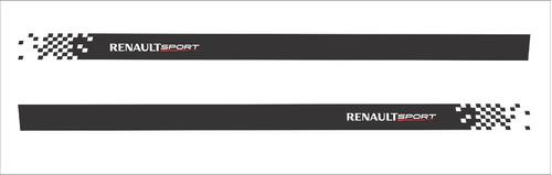 adesivo faixa lateral renault fluence flnce04
