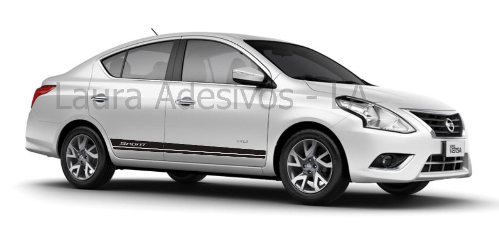 Nissan March Tuning >> Adesivo Faixa Sport Versa Nissan Kit Peças Tuning Acessórios - R$ 54,95 em Mercado Livre