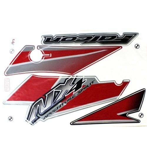 adesivo falcon  2005 vermelha kit