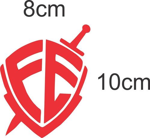 adesivo fé 20 peças recorte - promoção ideal p/ revenda