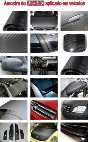 adesivo fibra de carbono moldável para envelopamento texturi