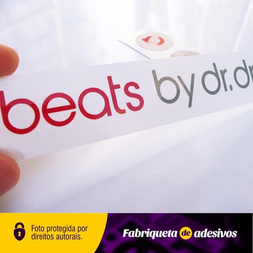 adesivo fone beats by dr dree