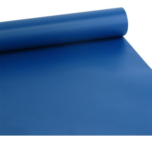 adesivo fosco azul índigo 1,00 x 2,00m
