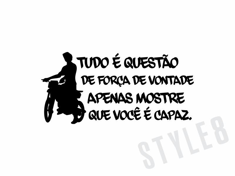Adesivo Frase Você é Capaz Moto Grau R 1150 Em Mercado Livre