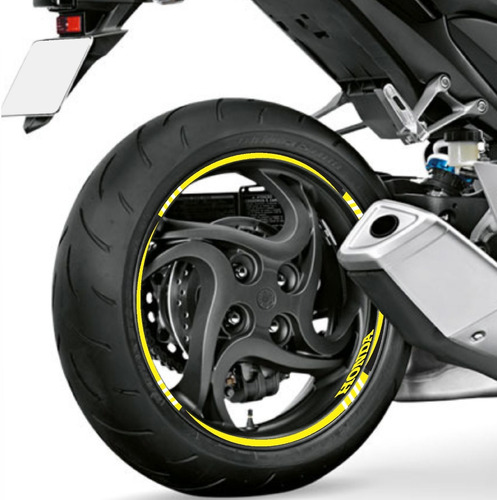 adesivo friso refletivo bl moto cb 300r yellow
