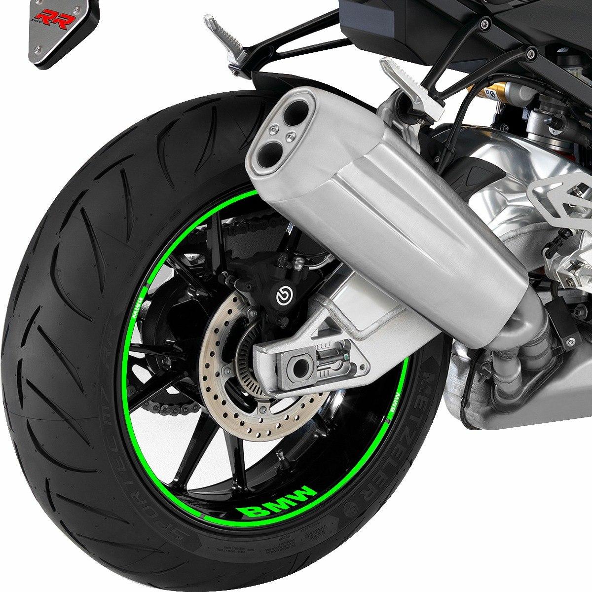 Adesivo De Roda Moto ~ Adesivo Friso Refletivo Para Roda Moto Bmw K 1600 Gt Verde R$ 72,90 em Mercado Livre