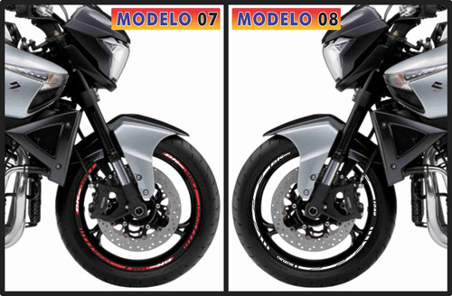 adesivo friso refletivo suzuki gsx b-king modelos top