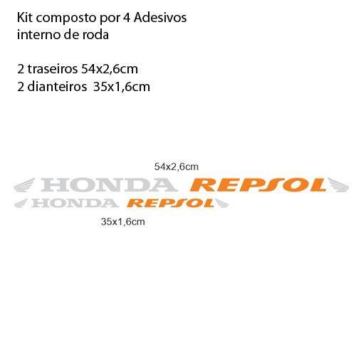 adesivo full large m3 roda moto honda repsol cbr 600 rr cb