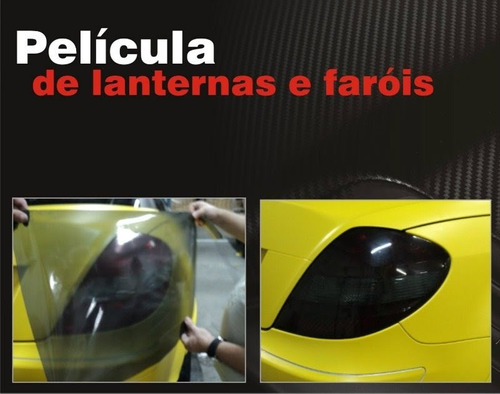 adesivo fumê - película lanterna farol carro /moto