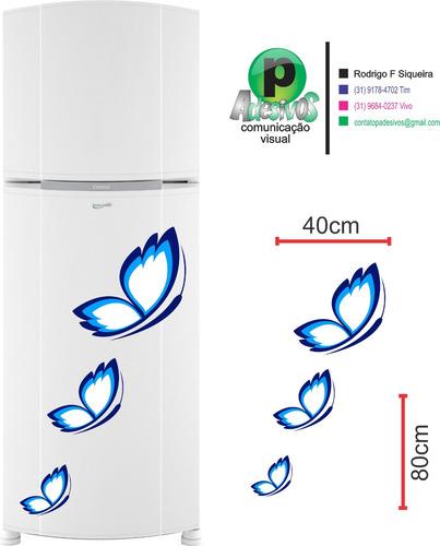 adesivo geladeira  borboleta