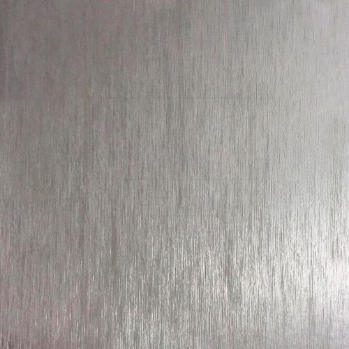 adesivo geladeira prata aço escovado inox 1,00 x 2,00m
