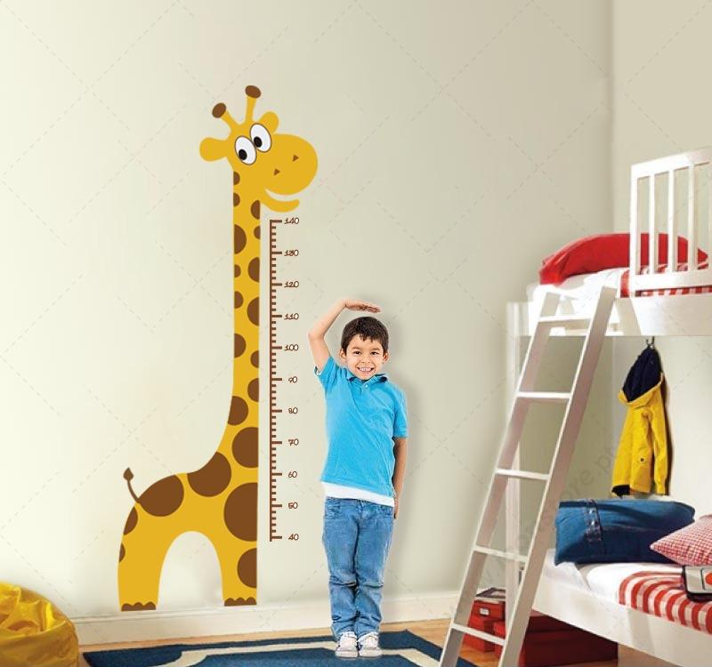 3f768f49b adesivo girafa régua do crescimento. Carregando zoom.