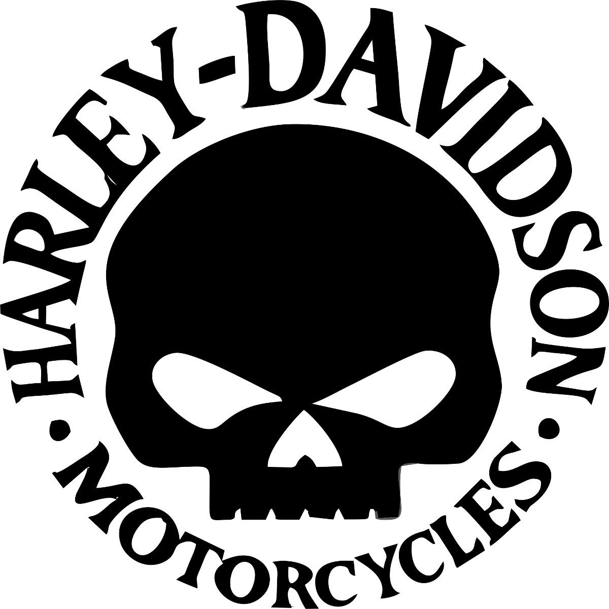 Harley Davidson Motorcycles Skull Logo