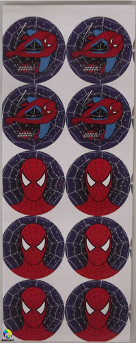 adesivo homem aranha (10 adesivos)