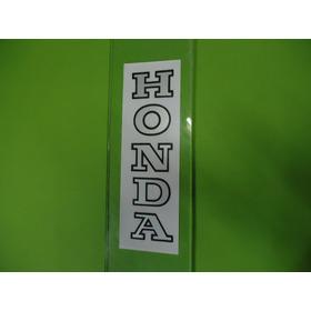 Adesivo Honda Bengala Prata Par