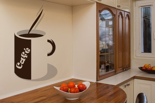 adesivo hora do café - mudo minha casa