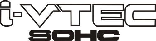 Adesivo I-vtec Dohc Sohc Honda New Civic - Show - R$ 25,00 ... Honda Dohc Vtec Logo