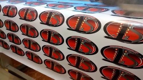 Artesanato Xavantes ~ Adesivo Impress u00e3o Digital + Recorte R$ 50,00 em Mercado Livre