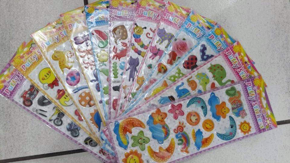 Feira Artesanal Vila Do Conde ~ Adesivo Infantil Decorativo Lembrancinha C 10 Cartelas R$ 19,99 em Mercado Livre