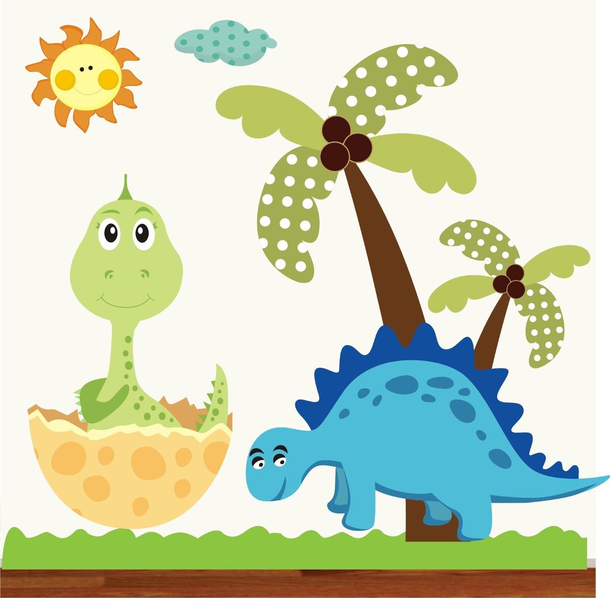 Adesivo Infantil Dinossauro Zoo Safari Decorativo Bebe Galho R