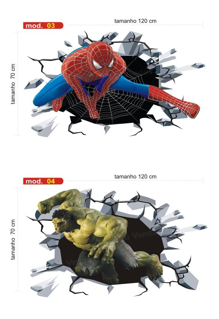 Adesivo De Quarto Infantil ~ Adesivo Infantil Parede Avengers Vingadores Capitao America R$ 54,90 em Mercado Livre