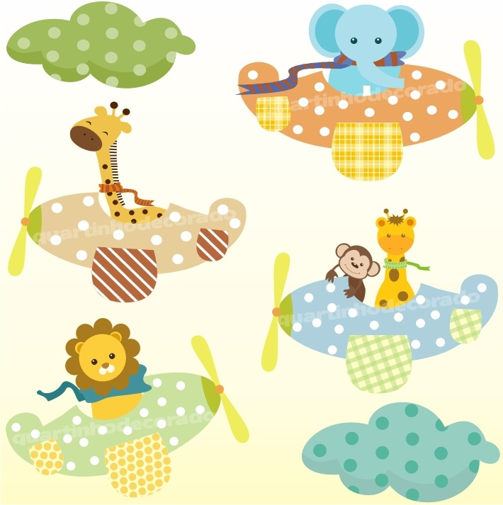 Adesivo infantil zoo transporte safari decorativo parede - Papel decorativo infantil para paredes ...