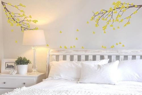 adesivo ipê amarelo - mudo minha casa