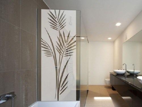 Adesivo jateado box banheiro janela vidro largura for Adesivos p porta de vidro