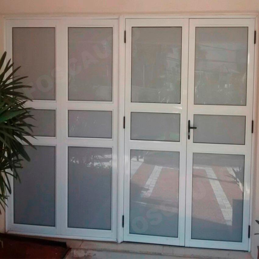 Aparador Em Laca Branca ~ Adesivo Jateado Branco Leitoso Box Banheiro Janelas De Vidro R$ 39,00 em Mercado Livre