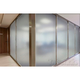 Adesivo Jateado Cristal Para Vidro, Box, Janela 1,00 X 2,00m
