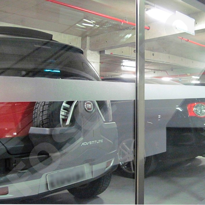Adesivo jateado faixa p sinaliza o de portas de vidro for Adesivos p porta de vidro