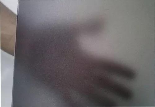 adesivo jateado fume p/ box banheiro janelas vidros 11mx1,22