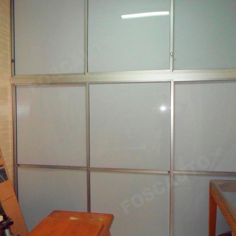 Adesivo Jateado Janela Vidro ~ Adesivo Jateado Leitoso Box Janela Portas Vidro 25m X 50cm R$ 595,00 em Mercado Livre