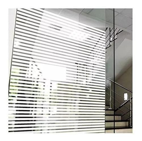 adesivo jateado listrado persiana grosso box vidro 7mx1,50m