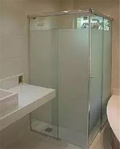 adesivo jateado para box banheiro janelas vidros 2m x 1,22m