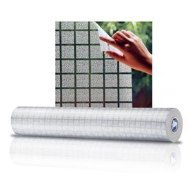 Adesivo Jateado Para Vidro Box Janela Quadrado 1,22 X 1,00