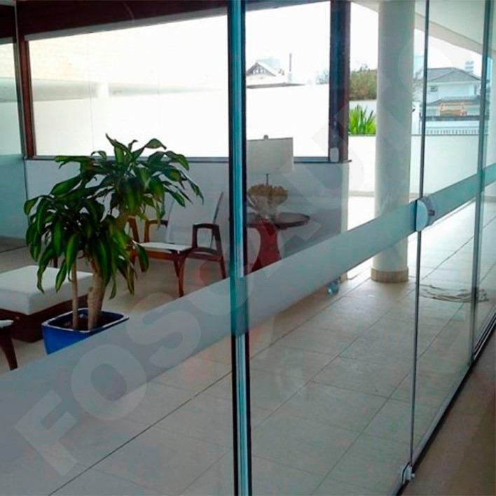 Adesivo jateado seguran a anti trombada p portas de vidro for Adesivos p porta de vidro