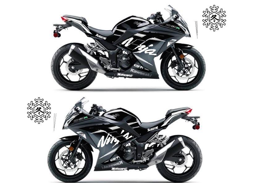 Adesivo Kawasaki Ninja 300 Winter Test R 16000 Em Mercado Livre