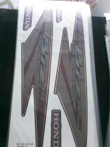 adesivo kit faixa biz 125 ex 2012-2013