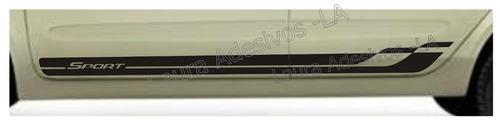adesivo lateral clio rc1 sport faixa acessórios tuniung la