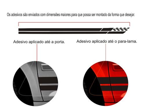 adesivo lateral faixa gm agile lt ltz cobalt kit acessórios
