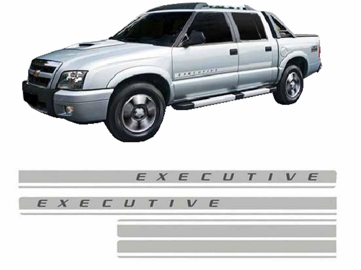 Adesivo Lateral Faixa S10 Blazer Executive 09 10 11 R