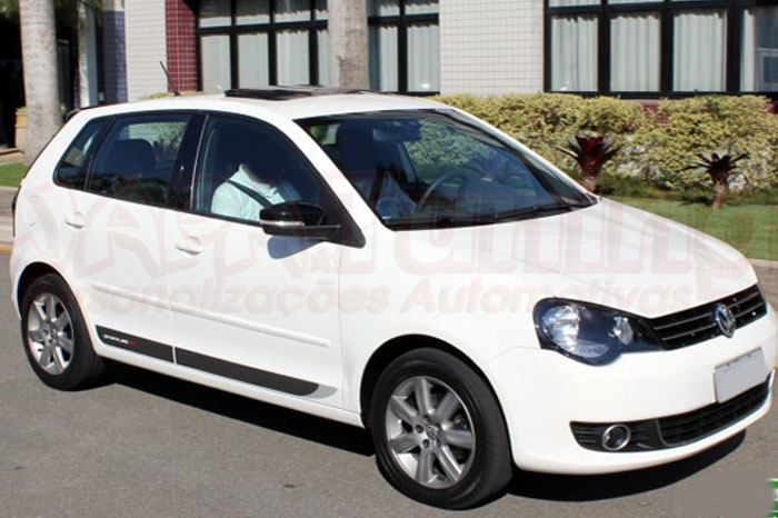 adesivo lateral vw polo sportline ou golf 2013 r 75 00. Black Bedroom Furniture Sets. Home Design Ideas