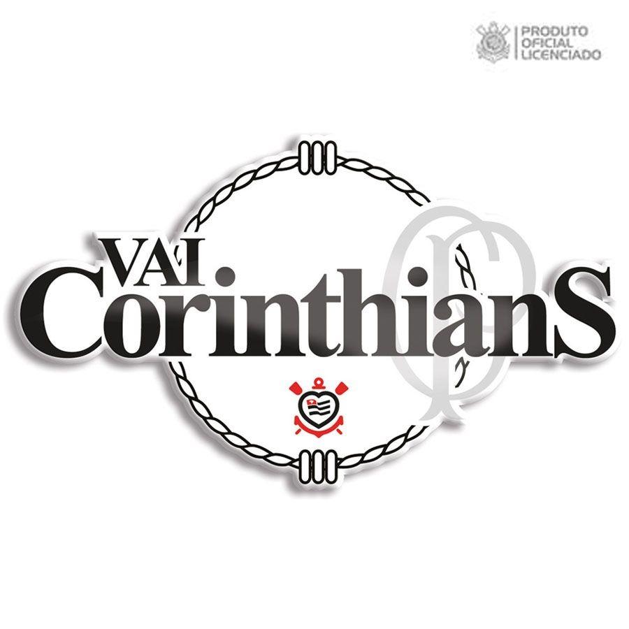 adesivo licenciado oficial vai corinthians. Carregando zoom. 035566e0366ad