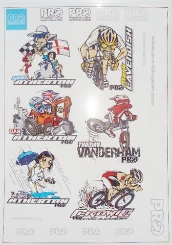 adesivo linha pro shimano ( 1 cartela )