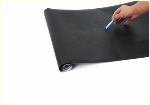 adesivo lousa quadro negro 100x50cm