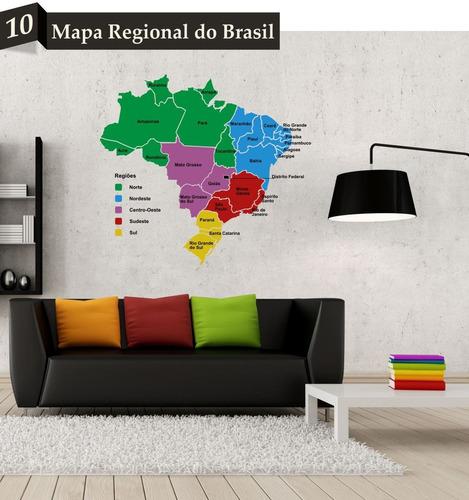 adesivo mapa mundi diversos modelos tamanho m